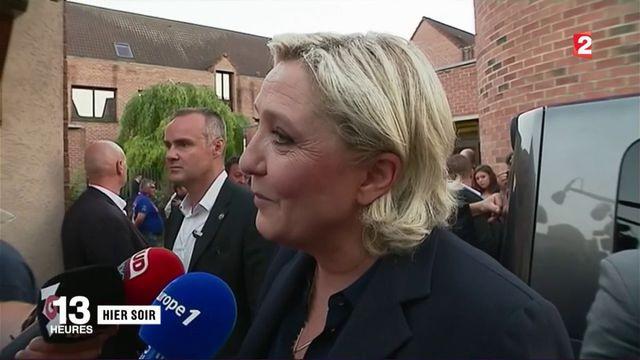 Front national : Marine Le Pen entre à l'Assemblée