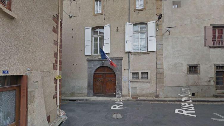 La sous-prefecture de Brioude (Haute-Loire). (GOOGLE STREET VIEW / FRANCETV INFO)