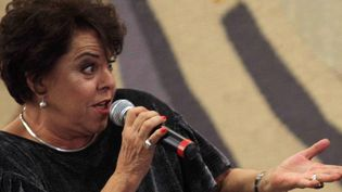 La chanteuse brésilienne Miúcha à Brasilia, en août 2010  (Eraldo Peres / AP / SIPA)