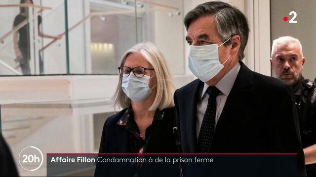 Affaire Fillon : condamnation à de la prison ferme