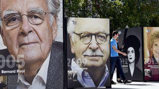 Des portraits d'écrivains sur la place Stanislas  (PHOTOPQR/L'EST REPUBLICAIN/MAXPPP)