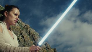 Daisy Ridley incarnant Rey dansStar Wars : Les derniers Jedi (2017). (LUCASFILM/ILM)