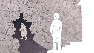 Même quand les parents ont conscience du harcèlement dont est victimeleur enfant, difficile d'agir surce qu'il se passe au sein de l'école. (JESSICA KOMGUEN / FRANCEINFO)