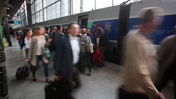 (Reprise du trafic SNCF. Ici, la gare de Lille Europe © MaxPPP)