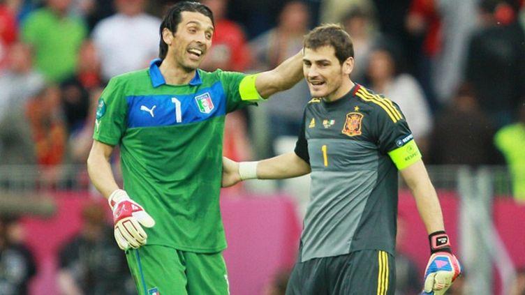Buffon et Casillas, toujours en course pour le titre