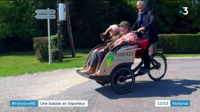 Meuse : des sorties au grand air pour les résidents d'un Ehpad
