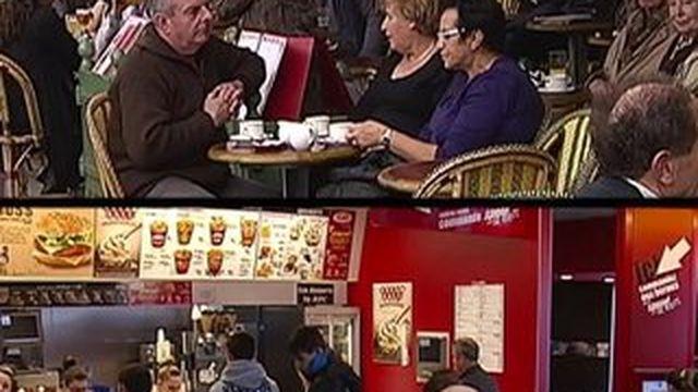 Pour déjeuner, les Français optent pour les boulangeries et les supermarchés