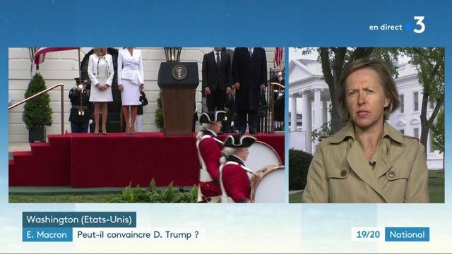 Macron aux Etats-Unis : l'intransigeance de Donald Trump