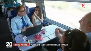 Billets de train, billets d'avion, les prix varient parfois sur un même trajet en l'espace de quelques minutes. France 2 mène l'enquête sur le grand flou de la tarification dans les transports. (FRANCE 2)