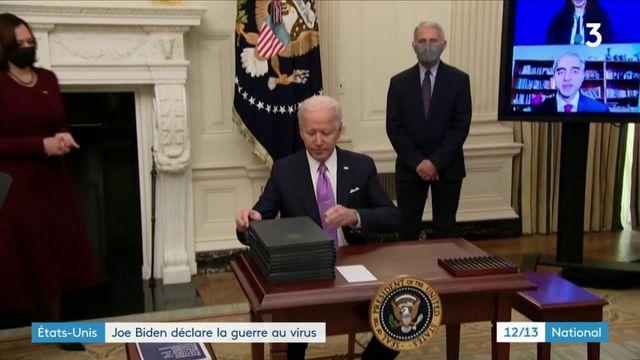 États-Unis : Joe Biden déclare la guerre au Covid-19