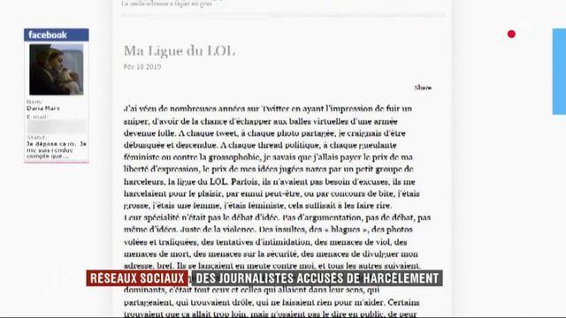 """""""Ligue du Lol"""" : des journalistes accusés de harcèlement via les réseaux sociaux"""
