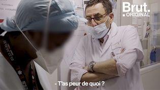 VIDEO. Vaccination : discussion entre une aide-soignante hésitante et un médecin (BRUT)