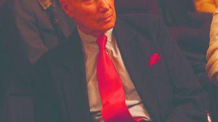 Gabriel Matzneff à une table ronde à Bordeau, le13 décembre 2007 (TARIS PHILIPPE / PHOTOPQR / SUD-OUEST / MAXPPP)