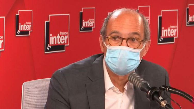 Eric Woerth était l'invité de France Inter mercredi 13 mai 2021. (FRANCE INTER)