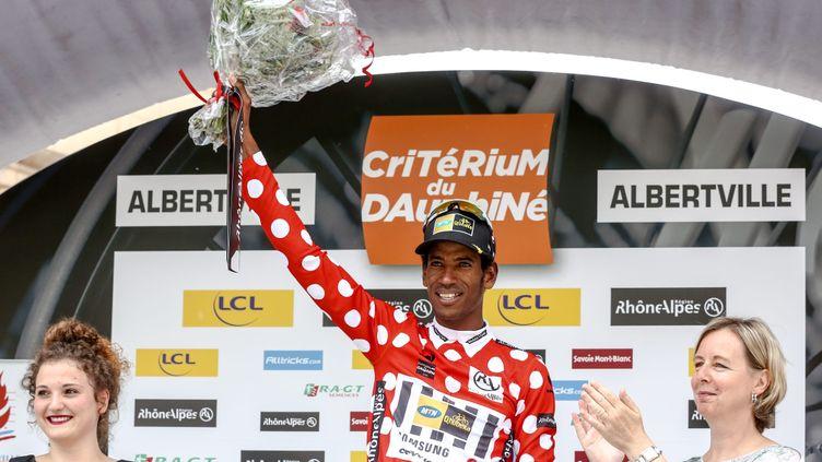 (Daniel Teklehaimanot sacré meilleur grimpeur au Criterium du Dauphiné © maxppp)