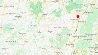 Strasbourg (Bas-Rhin). (GOOGLE MAPS)