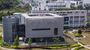 Lelaboratoire P4 de Wuhan (Chine), au sein de l'Institut de virologie. (HECTOR RETAMAL / AFP)