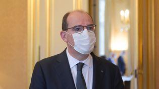 Le Premier ministre Jean Castex à Matignon, le 2 septembre 2021. (ERIC PIERMONT / AFP)
