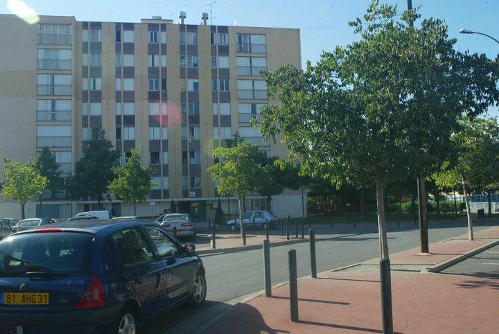 Le quartier des Izards, à Toulouse. (NATHALIE SAINT AFFRE / MAXPPP)