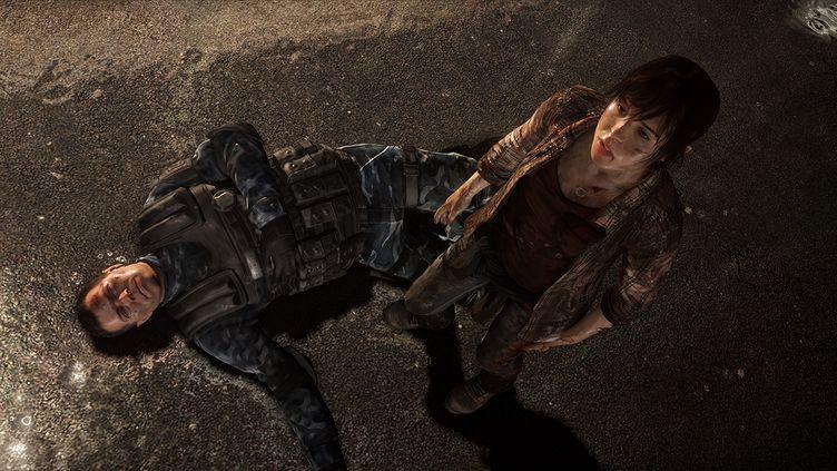 """Une capture d'écran du jeu vidéo """"Beyond : Two Souls"""". Développé par le studio français Quantic Dream, le titre emprunte de nombreux codes de narration au cinéma. (QUANTIC DREAM / SONY)"""