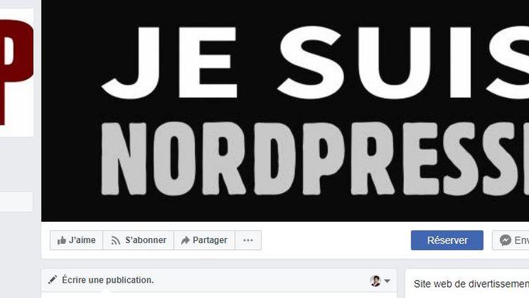 Capture d'écran de la page Facebook du site belge Nordpresse, le 22 juillet 2018. (FACEBOOK / FRANCEINFO)