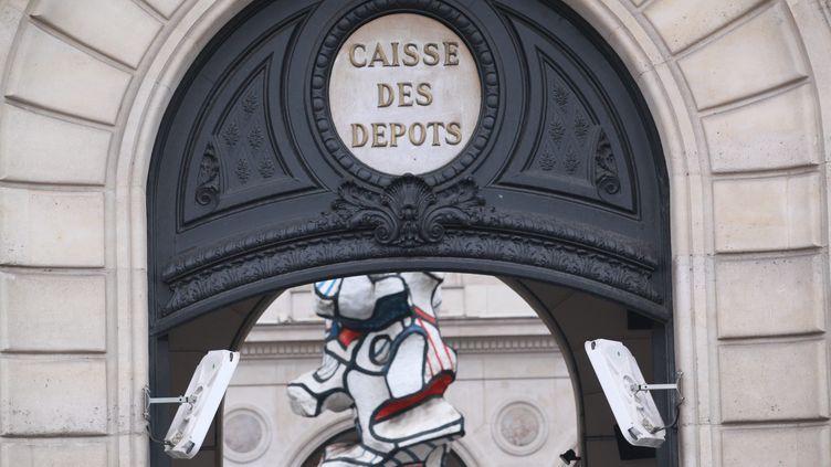 La Caisse des dépots et consignations à Paris. Photo d'illustration. (MAXPPP)