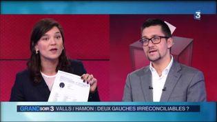 Marie Le Vern et Alexis bachelay (France 3)