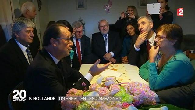 François Hollande est-il en campagne électorale ?