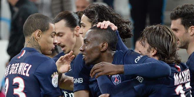 Matuidi félicité par ses coéquipiers du PSG