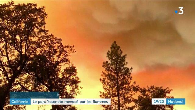 Californie : le parc Yosemite menacé par les flammes