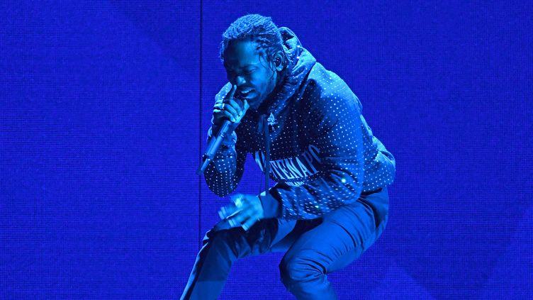 Kendrick Lamar en février 2018 à Londres  (Getty Images)