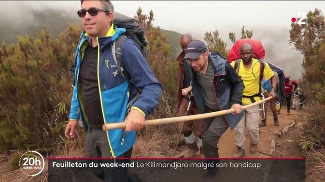 Atteint de sclérose en plaques, Julien Védani veut gravir le Kilimandjaro