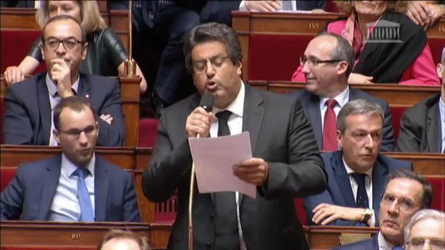 Les députés de La France insoumise quittent l'Hémicycle