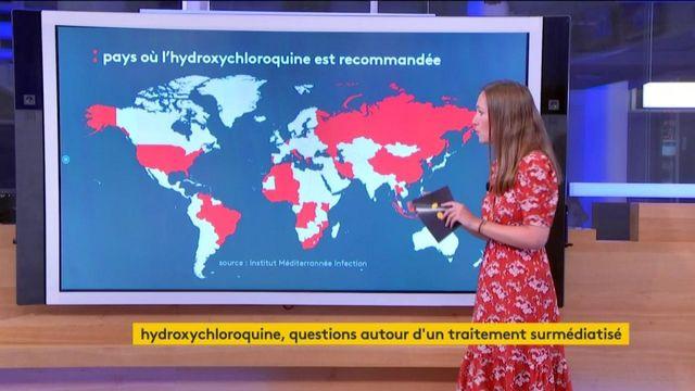 Coronavirus : l'utilisation à travers le monde de l'hydroxychloroquine