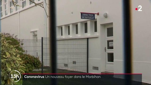 Covid-19 : nouveau foyer de contamination dans le Morbihan