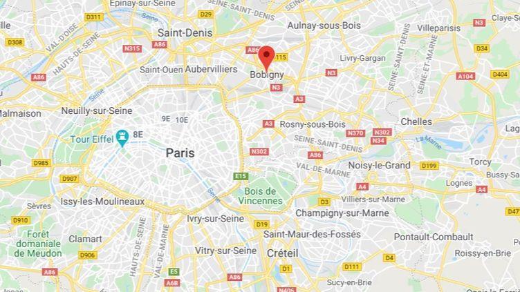 Seine-Saint-Denis. (GOOGLE MAPS)