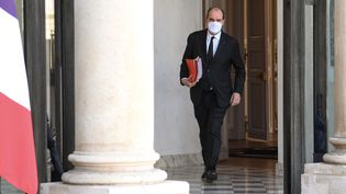 Le Premier ministre Jean Castex le 24 février 2021. (ALAIN JOCARD / AFP)