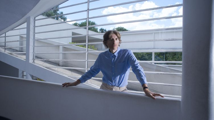 Le musicien Nicolas Godin, moitié du groupe parisien Air. (CAMILLE VIVIER)