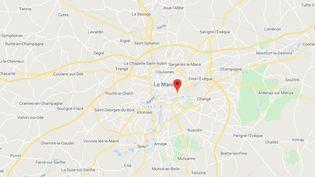 Le Mans(Sarthe). (GOOGLE MAPS)