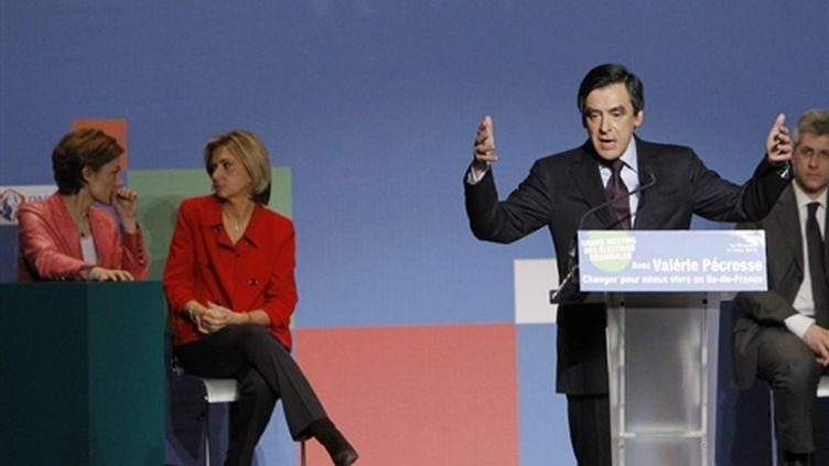 François Fillon à la Mutualité (17 mars 2010) (AFP/)