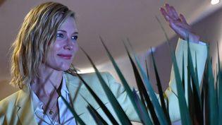 L'actrice australienne Cate Blanchett, le 7 mai 2018, à Cannes (Alpes-Maritimes). (ALBERTO PIZZOLI / AFP)