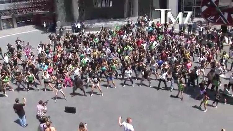 Alfonso Ribeiro a-t-il battu le record d'Oprah Winfrey dimanche à Los Angeles ? (TMZ / CAPTURE D'ÉCRAN YOUTUBE)