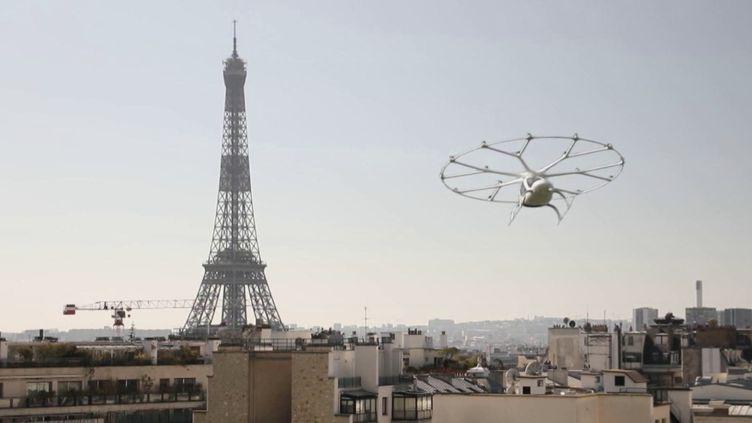 Innovation : des taxis volants bientôt dans le ciel de Paris (FRANCE 2)