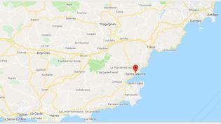 De fortes intempéries ont frappé la côte sud du pays et notamment la commune deSainte-Maxime(Var). (GOOGLE MAPS)