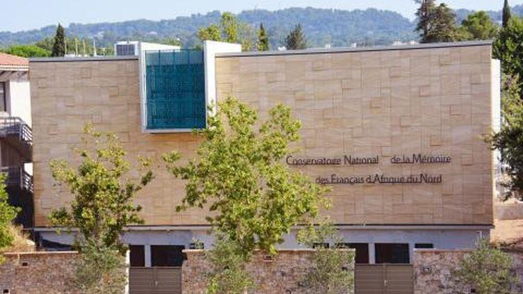 Le Conservatoire National de la Mémoire des Français d'Afrique du Nord inuaguré le 5 octobre 2019 à Aix-en-Provence (Bouches-du-Rhône) (CDHA)
