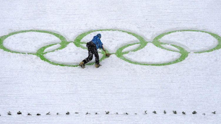 La ville de Salla craint que les effets du réchauffement climatique permettent d'organiser des Jeux d'été en Laponie (DON EMMERT / AFP)