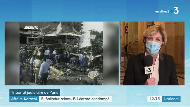 Affaire Karachi : la justice relaxe Edouard Balladur mais condamne François Léotard