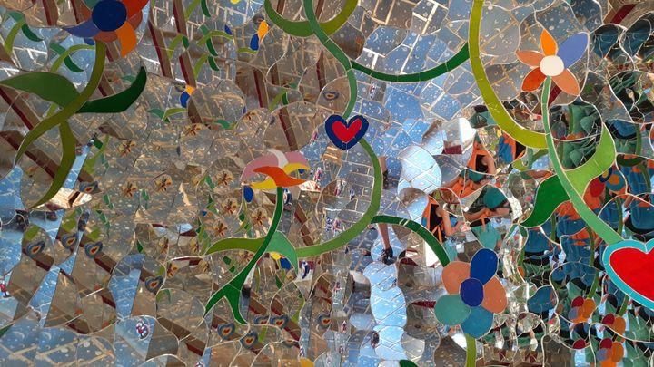 le Jardin des tarots créé par la plasticienne franco-américaine Niki de Saint Phalle en Italie. (MATHILDE IMBERTY / RADIO FRANCE)