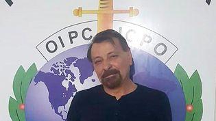 Cesare Battisti après son interpellation en Bolivie, samedi 12 janvier 2019. (BOLIVIAN POLICE / AFP)