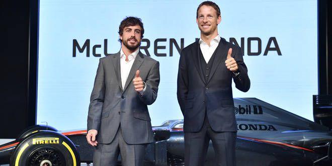 Fernando Alonso et Jenson Button, les deux grands amis réunis chez McLaren